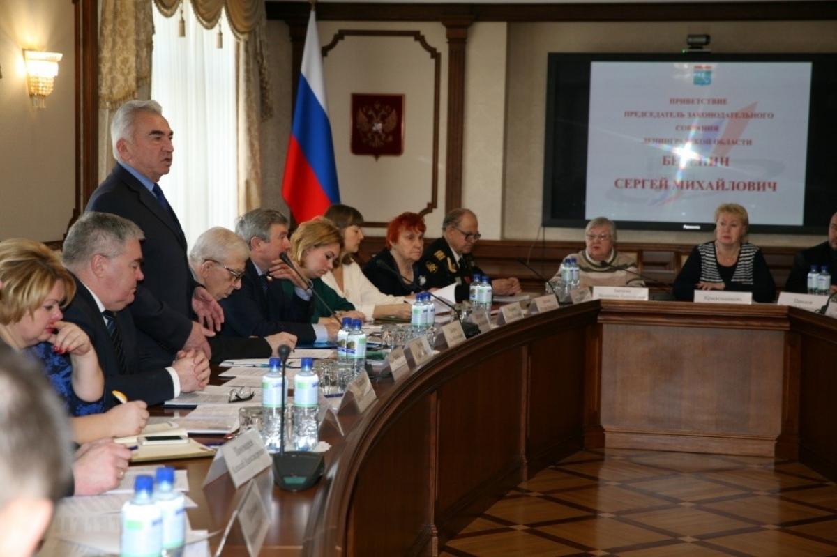 Встреча Председателя ЗАКСа Лен. области с лидерами общественных организаций