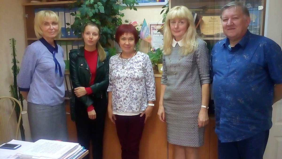 Встреча с сотрудниками Сосновоборской школы