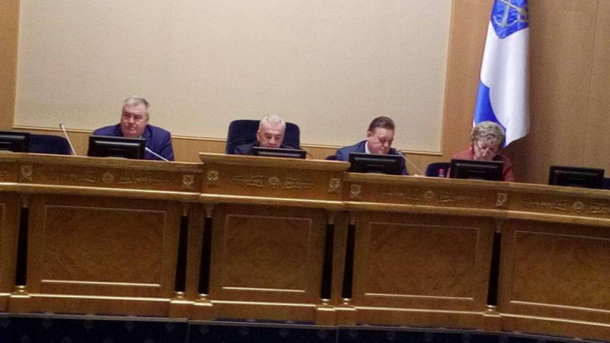 Обсуждение проекта областного закона