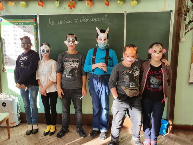 Творческий мастер-класс в 18 школе Центрального района