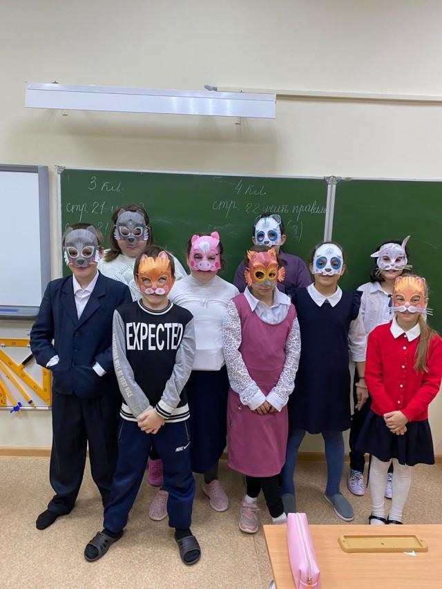 Дети Мира в Никольской школе-интернате