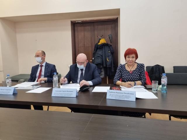 Заседание Общественного совета при Управлении Росреестра